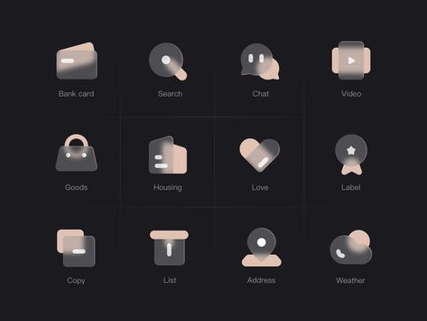 Hazy  icon - Dark