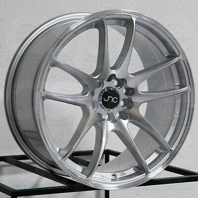 Advertisement Ebay 18x9 18x10 Jnc 030 Jnc030 5x114 3 30 30 Hyper Silver Wheel New Set 4 Wheel Rims Wheels And Tires Parts And Accessories