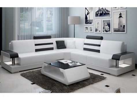 Tessie Leather Lounge - offers a modern classic design, with its - designer ecksofa lava vertjet