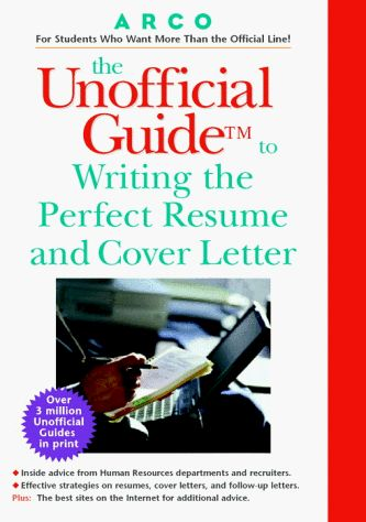 Resumes And Cover Letters Writing Guide The « LibraryUserGroup - writing resumes and cover letters