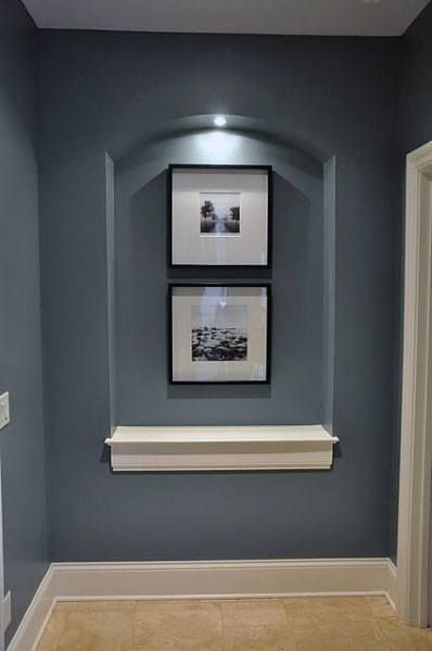 Top 40 Best Recessed Wall Niche Ideas - Interior Nook