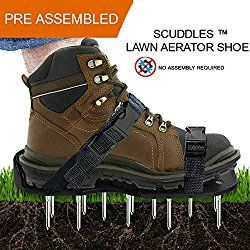 Lawn Aerator Shoes Scuddles Heavy Duty Aerating Spiked With Adjustable Straps Search Terms Diy Lawn Aerator Shoes Aerator San Aerate Lawn Aerator Lawn