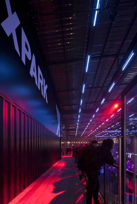 Pin By Bdp Lighting On Boxpark Croydon Fair Grounds