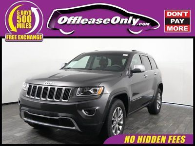 Ebay Grand Cherokee Limited 4x4 Off Lease Only 2015 Jeep Grand