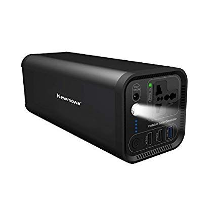 Portable Power Station Solar Generator Newmowa 154wh 41600mah Cpap Battery Pack Home Camping Emergency Power Suppl Solar Generator Emergency Power Solar Power