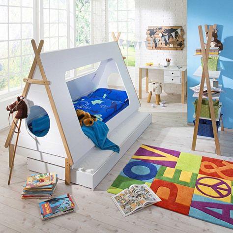 Bett Tipi 90 X 200 Cm Kinder Zimmer Mädchen Kinder Zimmer