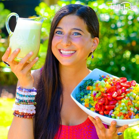 What's for dinner?! Please allow me to DRESS your salad!   My new favorite FullyRaw Orange Ginger Sesame Salad dressing here: http://youtu.be/tK7ZpgptLgY