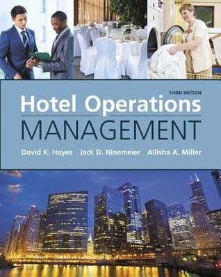 PDF DOWNLOAD] Hotel Operations Management by David K  Hayes Free