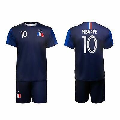 Advertisement Ebay Mbappe Jersey Shirt Soccer Kit Football France 10 Kids Adults Soccer Kits Kids Football Kits Jersey Shirt