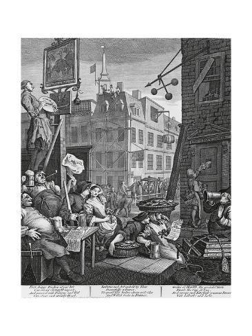 Giclee Print Beer Street London By William Hogarth 1697 1764