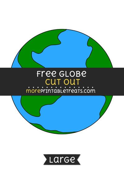 image relating to Globe Printable called Totally free Environment Minimize Out - Superior measurement printable No cost Printable