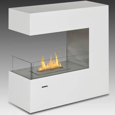 Santa Cruz 2 Sided Bio Ethanol Outdoor Fireplace Bioethanol