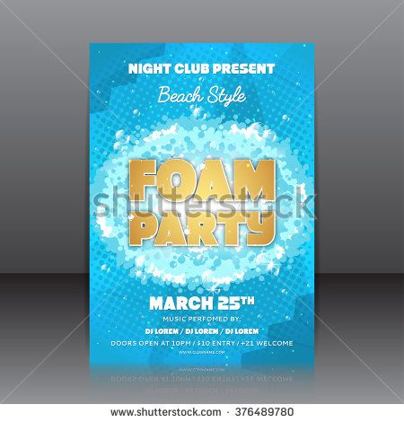 109 best The Rig images on Pinterest Foam party, Party flyer and - music brochure