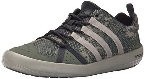 official photos cec8c f9333 adidas Outdoor Unisex Climacool Boat Lace Water Shoe, Bas…
