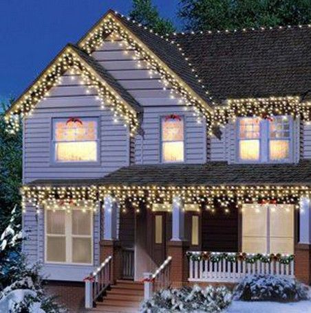 21 Awesome Outdoor Christmas Lights House Decorations Ideas 18 Holiday Christmas House Lights Outdoor Christmas Outdoor Christmas Lights