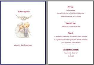 Menukarte Hochzeit Vorlage Menukarten Hochzeit Vorlagen Flugblatt Design