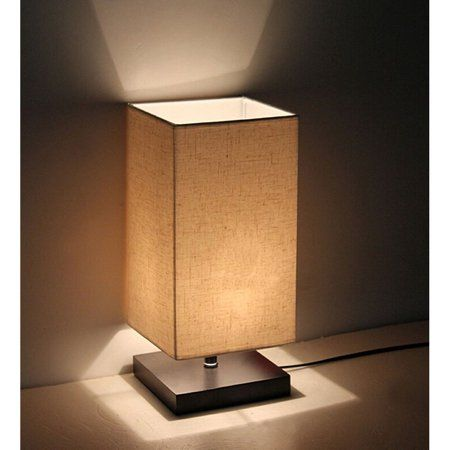 Surpars House Minimalist Solid Wood Table Lamp Bedside Desk Lamp Walmart Com In 2020 Table Lamps For Bedroom Bedside Table Lamps Nightstand Lamp