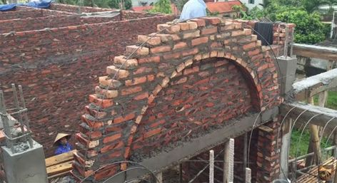 How To Build A Curved Brick Wall Step By Steps