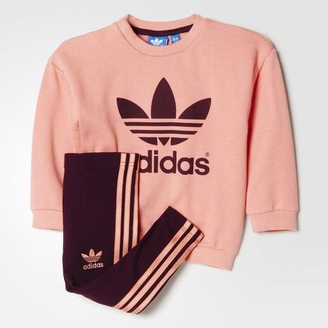 ensemble enfant fille adidas