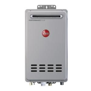 Rheem Performance Plus 9 5 Gpm Natural Gas Outdoor Tankless Water Heater Eco200xln3 1 In 2020 Gas Water Heater Tankless Water Heater Gas Water Heater