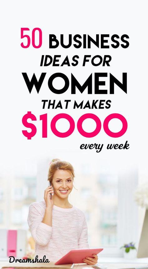50+ Lucrative Small Business Ideas For Women - Dreamshala