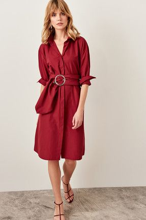 Kadin Elbise Trendyol The Dress Elbise Gomlek Elbise