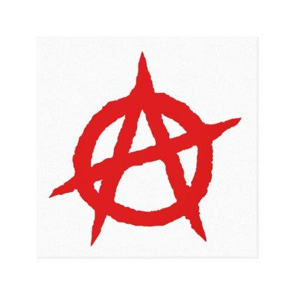 Anarchy Symbol Red Punk Music Culture Sign Chaos P Zazzle Com In 2021 Anarchy Symbol Punk Music Anarchy