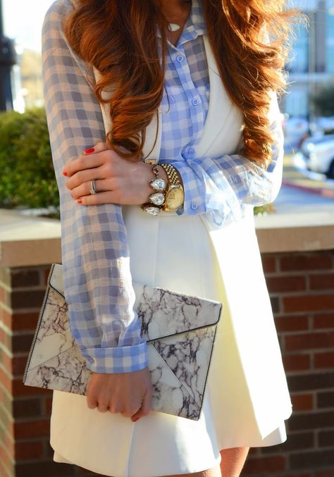 #fabfound vest with spring print mixing