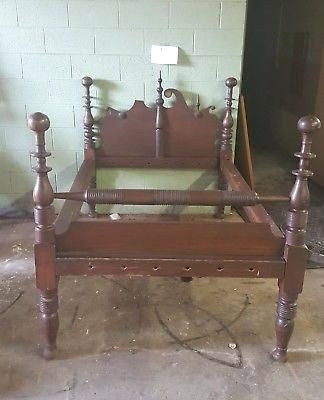 Antique Wooden Rope Bed Double Size Spool Beds For Sale Spool Bed Beds For Sale Bed
