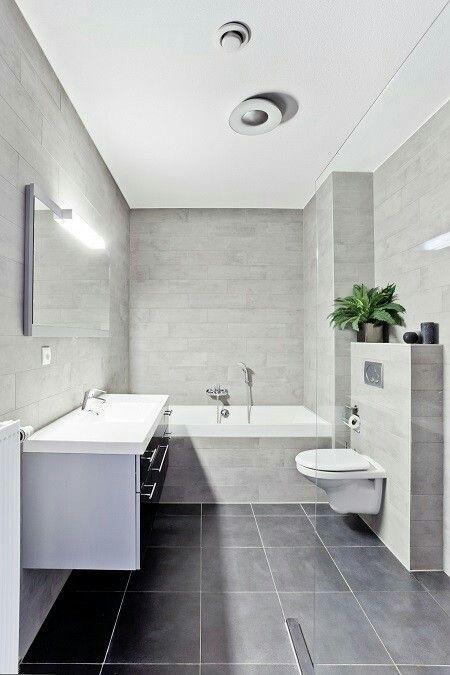 Afbeeldingsresultaat voor grijze tegels badkamer   Badkamer ...