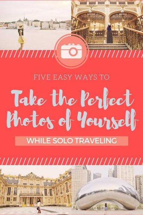 There are many things to love about solo traveling, but one of the challenges about traveling alone is trying to get yourself in your tra...