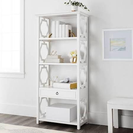 """24"""" wide white bookcase - Google Search   Bookcase shelves"""