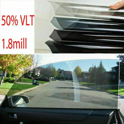 Ad Ebay 2ply 50cm 5m 50 Vlt Car Black Car Home Glass Window Tint Film Shade Roll New With Images Window Tint Film Tinted Windows Black Car