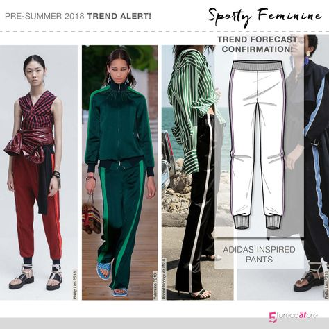 didas inspired trousers will be transformed into a more tailor trend