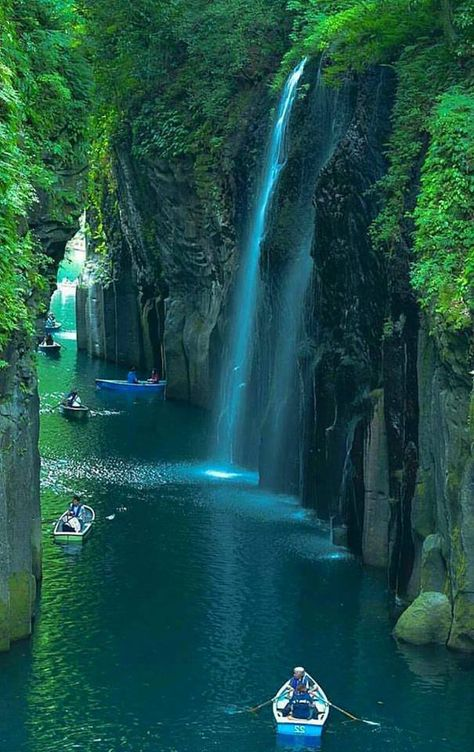 Waterfalls of the Ravine, Japan Cascate del burrone, Giappone 🇯🇵