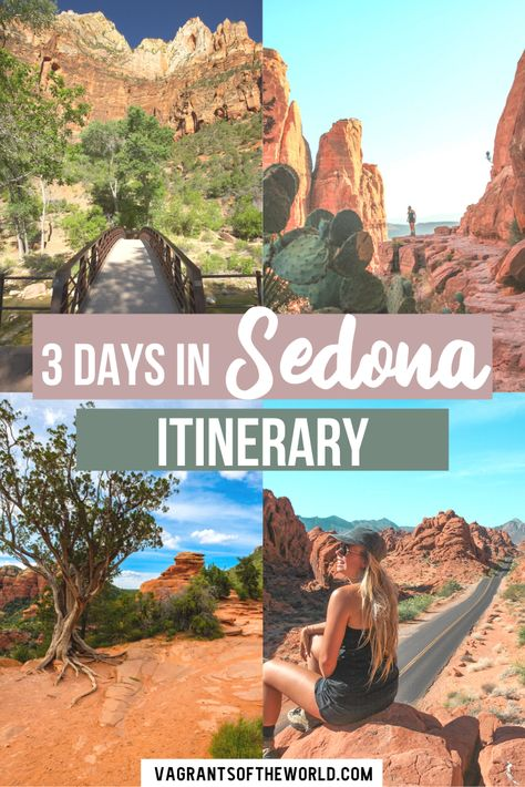 Our 3 days in Sedona Hiking guide will show you the best hikes in Sedona as well as where to eat and the best attractions in Sedona Vacation Trips, Vacation Deals, Travel Deals, Travel Hacks, Travel Essentials, Budget Travel, Travel Guides, Vacations, Arizona Travel