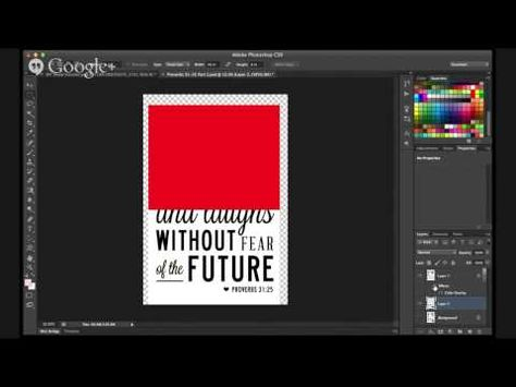 DIY Wood  Signs - How to use Photoshop to print large art in sections for image transfer to wood