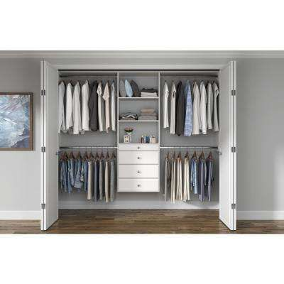 Wood Closet Systems Closet Systems The Home Depot In 2020