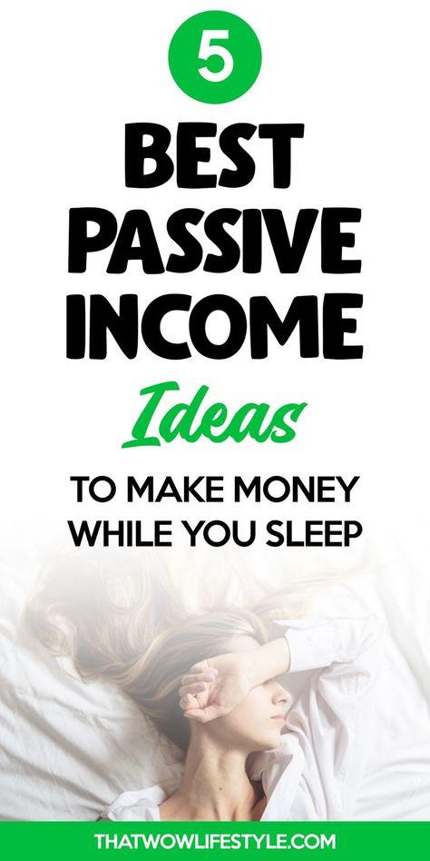 Best Passive Income Ideas For 2020