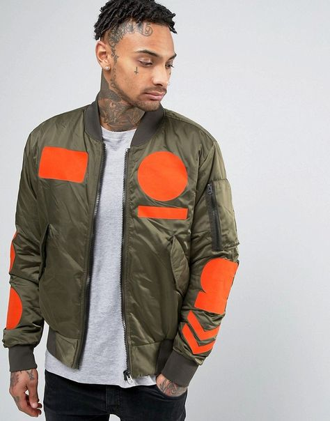 Get this G star's bomber jacket now! Click for more details