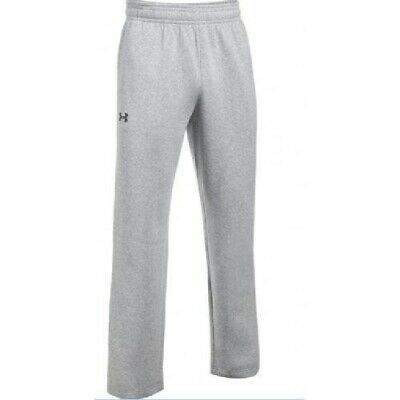 Under Armour Hustle Fleece Team Pant Mens 1300124 Grey In 2020 Mens Shirt Dress Fleece Pants Basic Tee Shirt