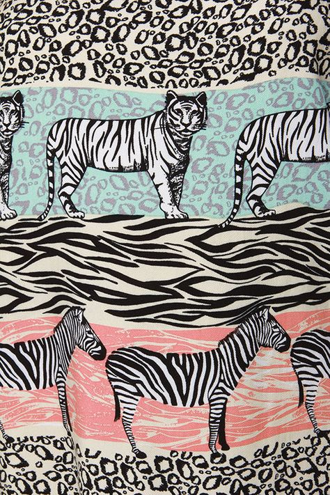 Mink Pink Safari Adventure Jungle Print Shift Dress at Lulus.com!
