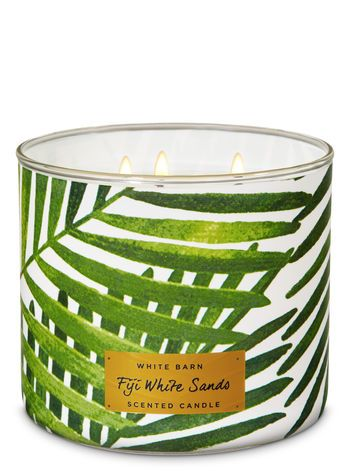 Fiji White Sands 3 Wick Candle Bath Body Works Sand Candles Candles Summer Candles