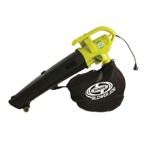 Leaf Blower Joe 200 Mph 450 Cfm 3 In 1 Electric Leaf Blower Vacuum