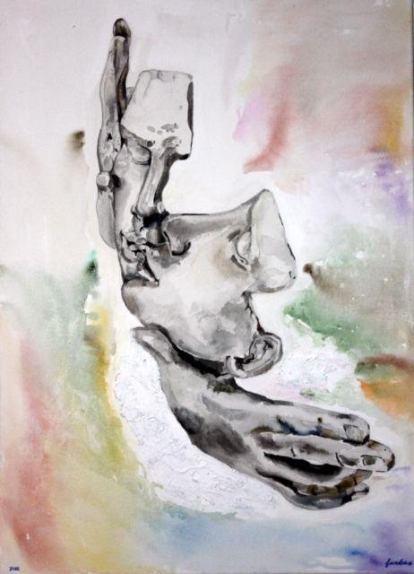 der kuss abstract artwork große leinwand bestellen poster auf drucken lassen