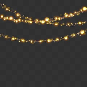 Christmas Lights Series Light Effect Christmas Light Tandem Png Transparent Clipart Image And Psd File For Free Download In 2020 Christmas Lights Christmas Lights Background Gold Christmas Lights