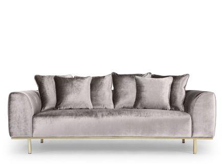 3 Sitzer Sofas Nv Gallery Farbe Gris Clair Rose Quartz Gris Argente Gris Graphite Gris Souris N Idees De Decoration Interieure Decoration Interieure Deco
