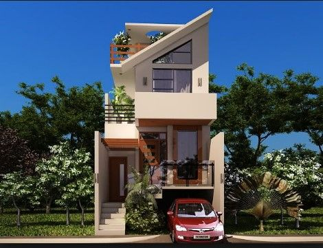House Designs For Small Plots Best Small House Designs Small House Design House Design Pictures