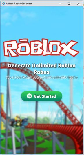 Roblox Robux Generator 2018 Free Download