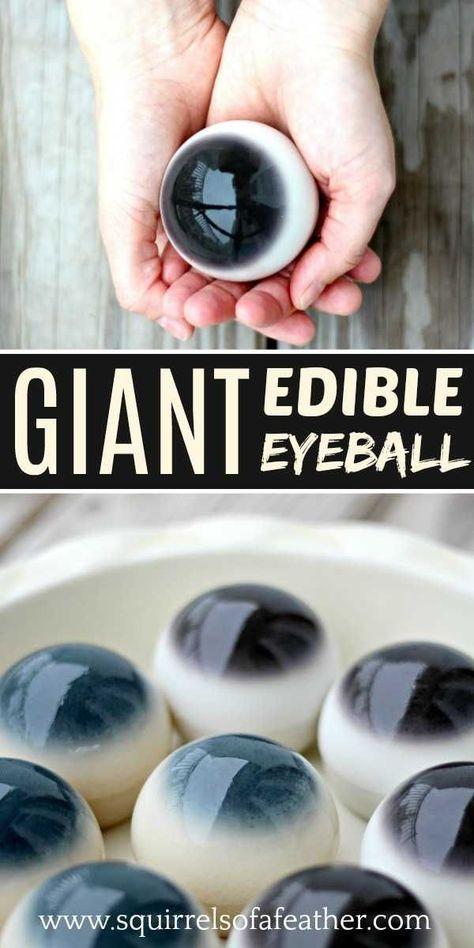 Best edible eyeball recipe ever! Everyone loved this Halloween eyeball recipe! Five stars!